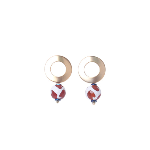 ACROBAT X ORI EARRINGS DOT BALL